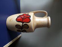 Céramique vintage à motif floral