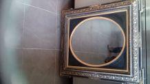 Miroir ancien de style Napoléon III 85*75
