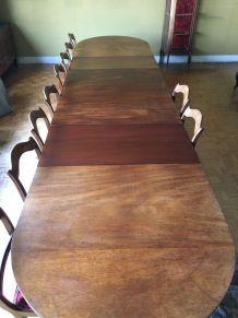 Table ACAJOU de Sejour 4m50 18places