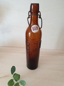 Ancienne bouteille de bière BGM
