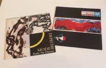 Depeche Mode - 2 vinyles 45 t