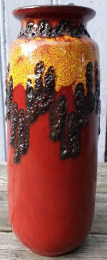 Vase w.germany 206-27 rouge