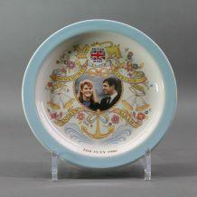assiette mariage royal du Prince Andrew  et Sarah Ferguson