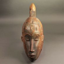 Ancien masque africain Gouro côte d'ivoire