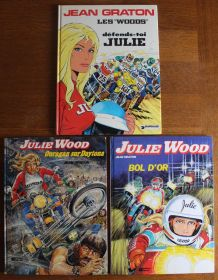 Lot 3 BD Julie Wood - Editions originales