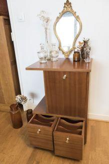 Meuble ancien en bois / trieur / classeur vintage