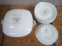 Ensemble porcelaine de Limoges