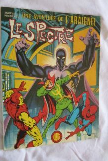 Une aventure de l'Araignée N° 3 Le Spectre - 1978