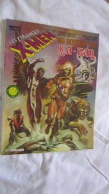 Les étranges X-MEN N°4 Au royaume de Ka-Zar - 1984
