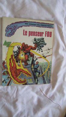 Une aventure des Fantastiques N°7 Le penseur fou - 1975
