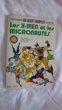 Un récit complet Marvel N° 7 Les X-Men et les micronautes