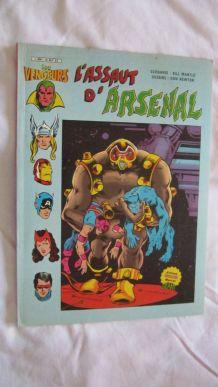 Les vengeurs (série 5) Tome 1 L'assault d'Arsenal - 1982