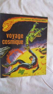 Une aventure des Fantastiques N°5 Voyage cosmique - 1974