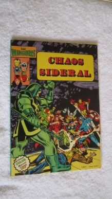 Les vengeurs N° 2 Chaos sidéral - 1980