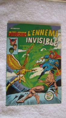 Les défenseurs N° 4 L'ennemi invisible - 1982