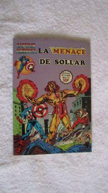 Captain America T14 La menace Sollar - 1981