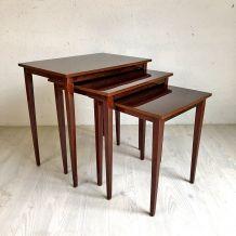 Tables Gigognes vintage 60's