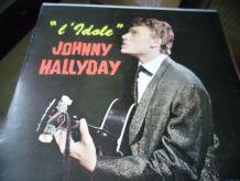 33T/LP JOHNNY HALLYDAY    L'IDOLE