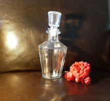 Carafe à Wisky en verre vintage
