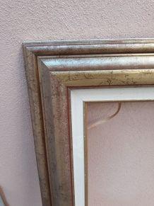 cade doré en bois 61 x 50 cm (12F)