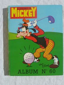 album Mickey N° 60 années 1973-74
