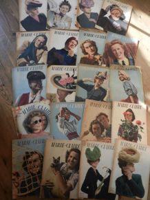 revues vintage Marie Claire