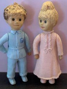 Figurines Nicolas & Pimprenelle