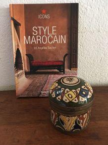 Pot marocain.