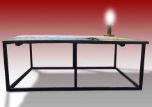 Table basse « serrure »