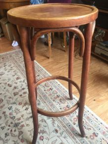 Tabouret de bistro Thonet authentique