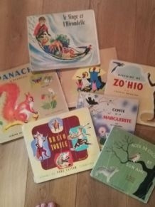 Lots livres enfant anciens