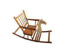 Chaise cheval à bascule