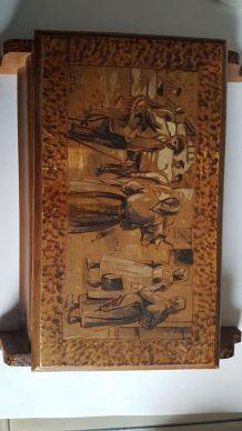 Boite en bois ancienne