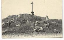 CHATEL-GUYON (63) Le Calvaire (berger,moutons)