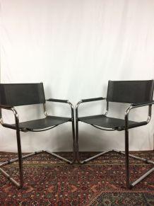 Paire de fauteuils « Cantilever »