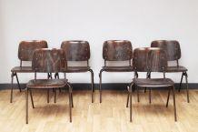 6 Chaises vintage Marko Kwartet