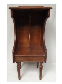Ancien meuble téléphone
