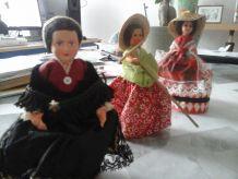 Lot de poupées x5
