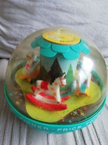 Boule culbuto ancienne fisher price