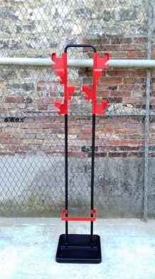 Porte manteaux Vitrac Manade vintage 70s  space age