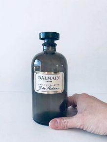 Ancien flacon de parfum Balmain, objet de collection