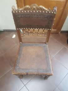 6 Chaises vintage