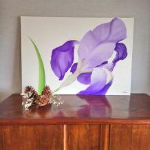"Peinture à l'huile ""Iris"""