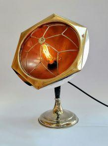 "Lampe vintage, lampe industrielle - ""Buga"""