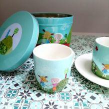 Ensemble tasses à café Arcopal