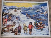Affiche scolaire Mdi pays froids et méditerranéens