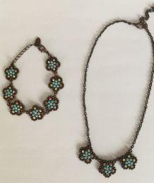 Collier et bracelet Belle Paris