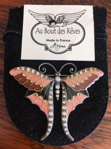 Broche papillon Au Bout des Rêves
