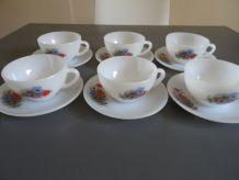 Tasses vintage Arcopal