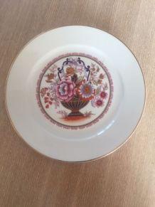 Assiette porcelaine de bavière schirnding